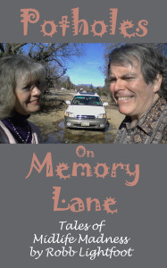 Photo - Book cover of Potholes on Memory Lane