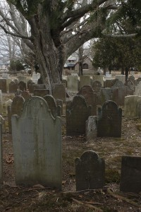 photo of gravestones